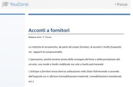 Acconti a fornitori : scritture contabili e trattamento IVA