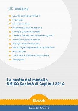 Le novità del modello UNICO Società di Capitali 2014