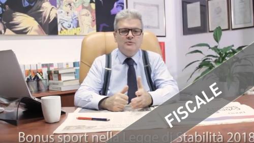 Bonus-sport-Legge-Stabilità-2018-rottamazione-cartelle-nuova-circolare-Split-Payment-bozze-mod-ISA-
