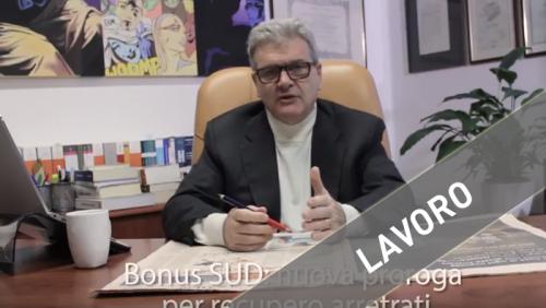 Bonus SUD recupero arretrati, responsabilità solidale contratti di subfornitura, gestione geleghe s