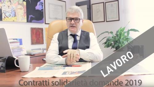 contratti-solidarietà-domande-2019