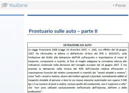 Prontuario delle auto – parte II