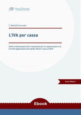 L'IVA per cassa