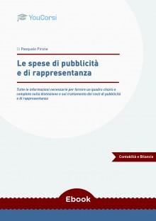 Le spese di pubblicità e di rappresentanza
