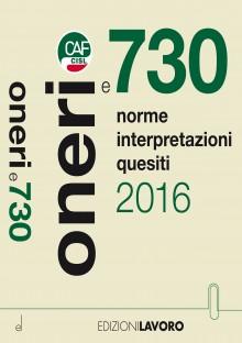 Oneri e 730/2016