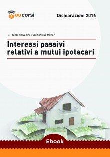 Interessi passivi relativi a mutui ipotecari
